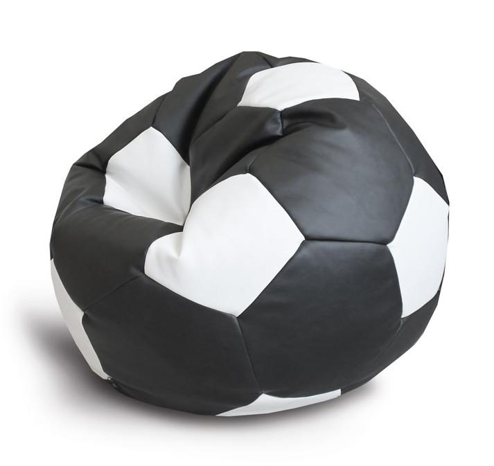 Кресло-мяч Экокожа D100см Черно-Белый