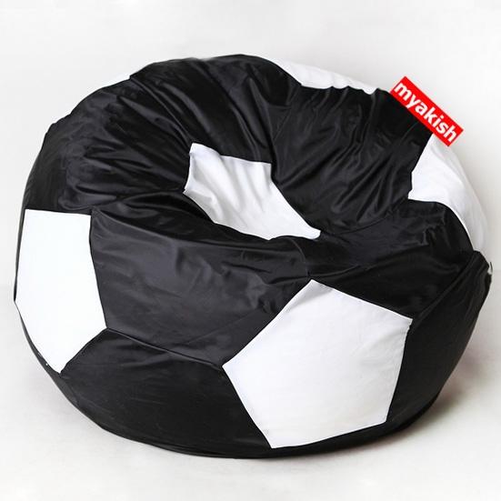 Кресло-мяч Оксфорд D100см Черно-Белый