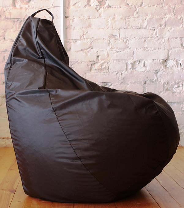 Кресло Оксфорд Черное L